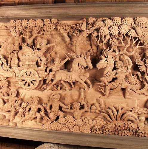 Asian Wood Carvings 106