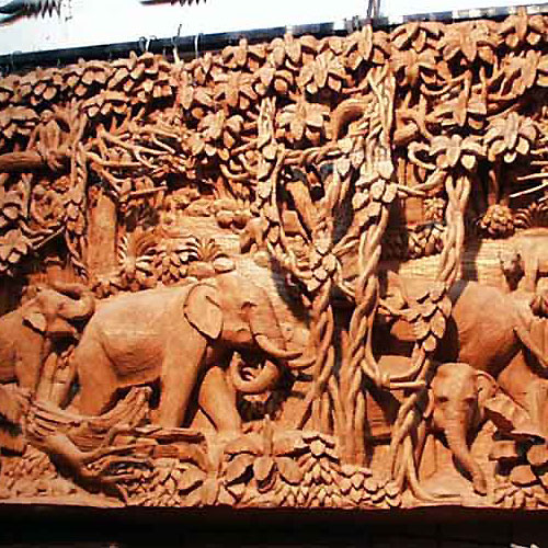 Asian Wood Carvings 7